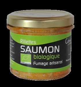 Rillettes de saumon biologique 90g
