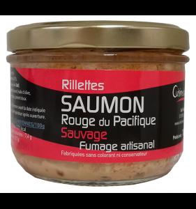 Rillettes de saumon sauvage d'Alaska