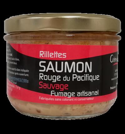 Rillettes de saumon sauvage d'Alaska 180g