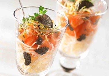 Verrine Celeri saumon