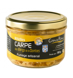 Rillettes de carpe 180g