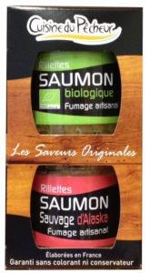 Rillettes saumon haut de gamme