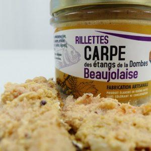 Rillettes de carpe beaujolaise