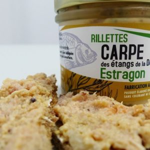 Rillettes de carpe estragon