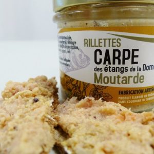 Rillettes de carpe moutarde