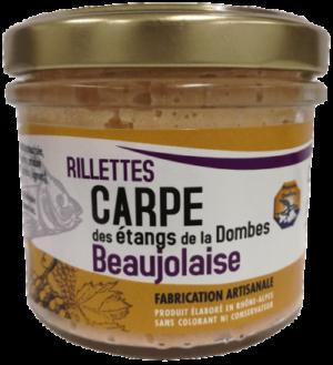 Rillettes carpe beaujolaise