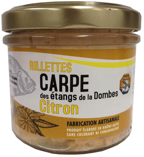 Rillettes carpe citron