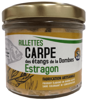 Rillettes carpe estragon