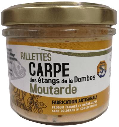 Rillettes carpe moutarde