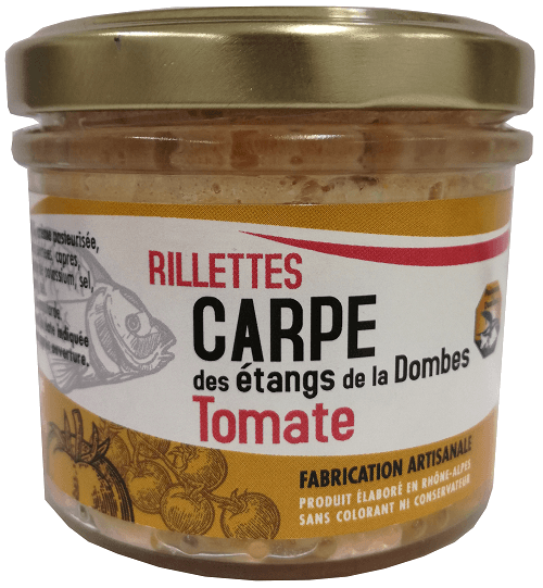 rillettes carpe tomate