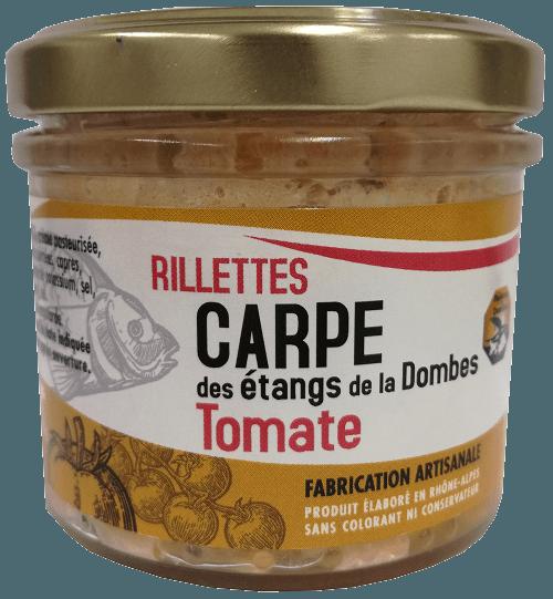 rillettes carpe tomate