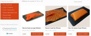 Saumon fumé vente en ligne