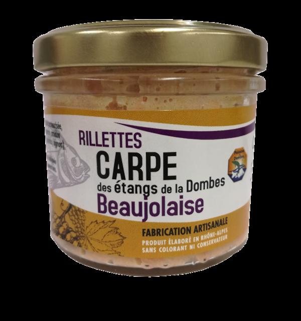 Verrine de rillettes de Carpe Beaujolaise 90g
