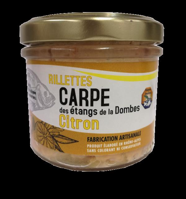Verrine de rillettes de Carpe Citron 90g