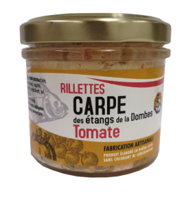 Pot de rillettes de Carpe Tomate 90g