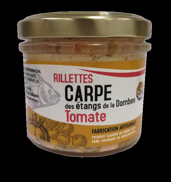 Verrine de rillettes de Carpe Tomate 90g