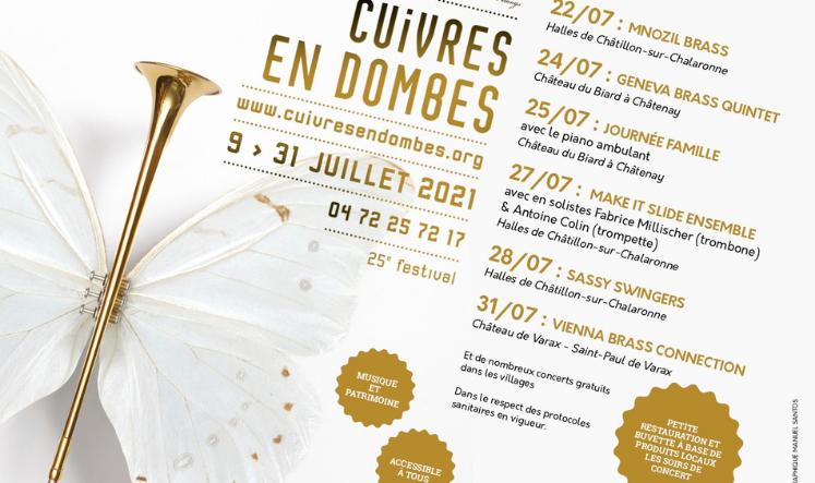 Programmation Festival Cuivres en Dombes